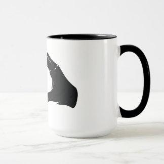 Illustration Friendzoned Hands Shape Mug