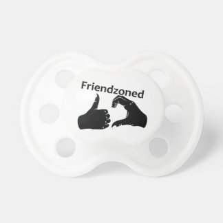 Illustration Friendzoned Hands Shape Pacifier