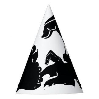 Illustration Friendzoned Hands Shape Party Hat
