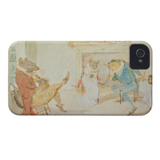Illustration from 'A Frog He Would a Wooing Go' iPhone 4 Case-Mate Cases