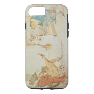 Illustration from 'A Frog He Would a Wooing Go' iPhone 8/7 Case