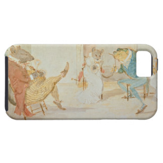 Illustration from 'A Frog He Would a Wooing Go' iPhone SE/5/5s Case