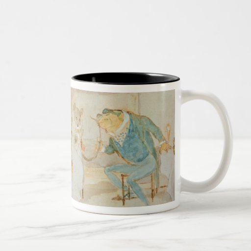 Illustration from 'A Frog He Would a Wooing Go' Mug