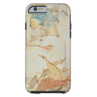 Illustration from 'A Frog He Would a Wooing Go' Tough iPhone 6 Case