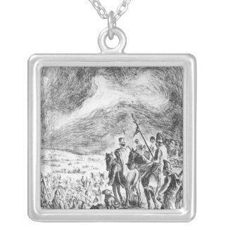 Illustration from Campana en el ejercito Personalized Necklace