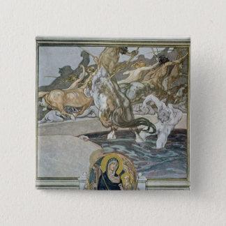 Illustration from Dante's 'Divine Comedy' Button