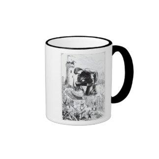Illustration from 'Gulliver's Travels' Ringer Mug