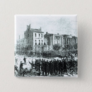 Illustration from 'Harper's Weekly' magazine Pinback Button