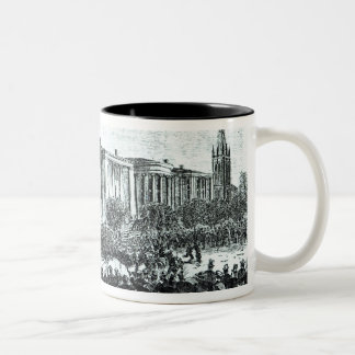 Illustration from 'Harper's Weekly' magazine Two-Tone Coffee Mug