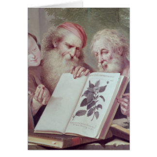 Illustration from Hortus Cliffortianus Card
