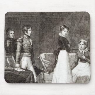 illustration from 'La Famille Elliot' Mouse Pad