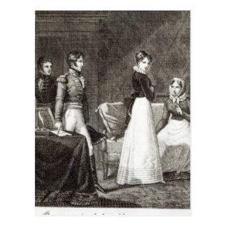 illustration from 'La Famille Elliot' Postcard