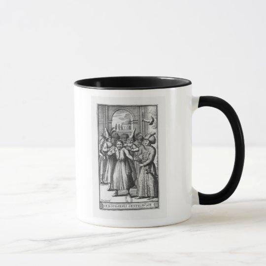 Illustration from 'Le Bourgeois Gentilhomme' Mug