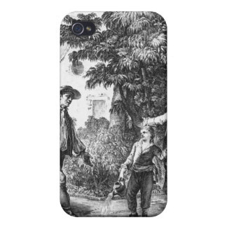 Illustration from 'L'Emile' iPhone 4/4S Case
