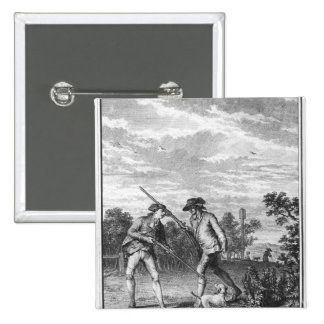 Illustration from 'L'Emile' Pinback Button