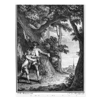Illustration from 'L'Emile' Postcard