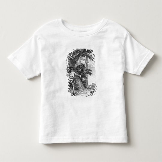 Illustration from 'L'Emile' Toddler T-shirt
