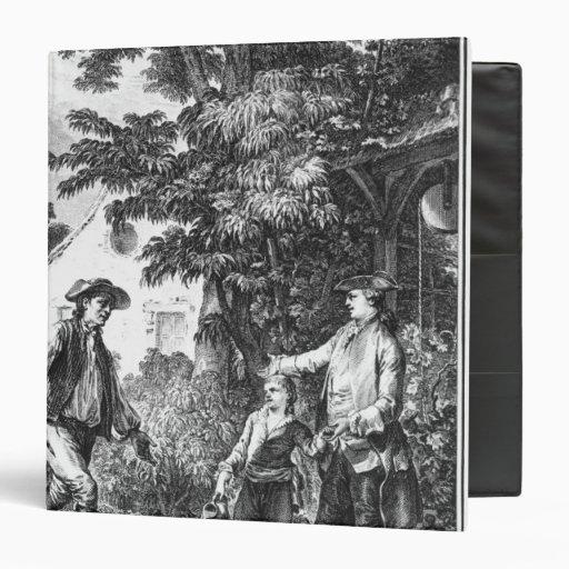 Illustration from 'L'Emile' Vinyl Binders