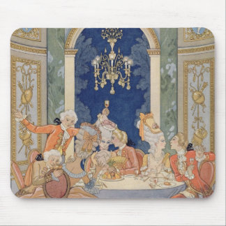 Illustration from 'Les Liaisons Dangereuses' by Pi Mouse Pad