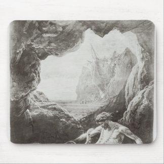 Illustration from 'Les Travailleurs de la Mer' Mouse Pad