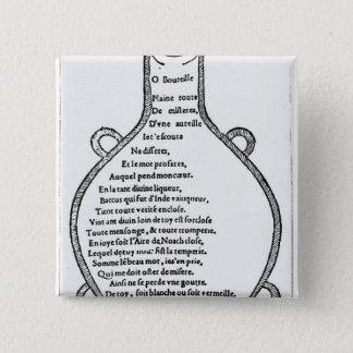 Illustration from 'Pantagruel' Pinback Button