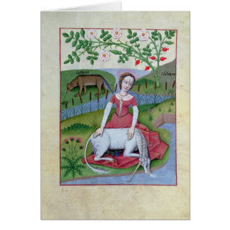Illustration from the 'Book of Simple Medicines' Card
