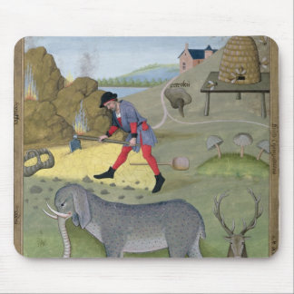 Illustration from the 'Book of Simple Mouse Pad