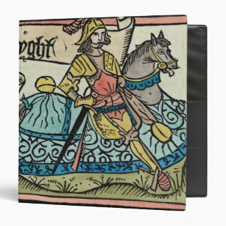 Illustration from 'The Canterbury Tales' Binder