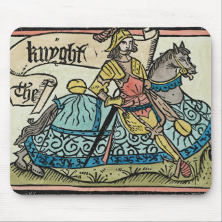 Illustration from 'The Canterbury Tales' Mouse Pad