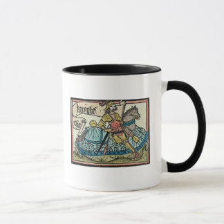 Illustration from 'The Canterbury Tales' Mug