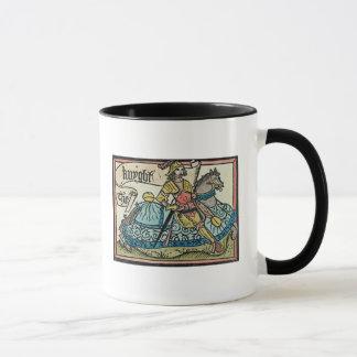 Illustration from 'The Canterbury Tales' Mug