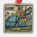 Illustration from 'The Canterbury Tales' Ornaments