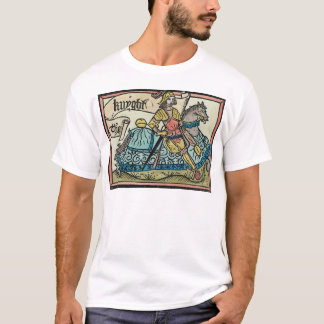 Illustration from 'The Canterbury Tales' T-Shirt