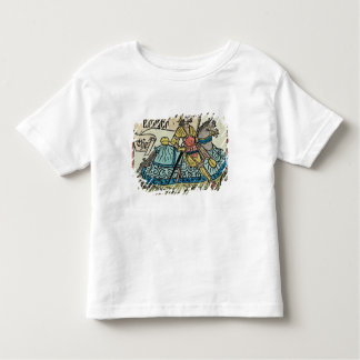 Illustration from 'The Canterbury Tales' Toddler T-shirt