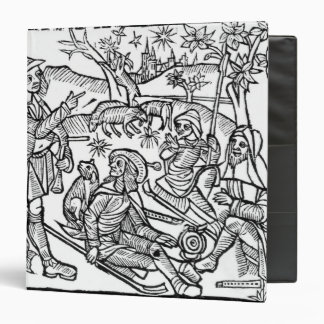 Illustration from the 'Kalendar of Shepherds' 3 Ring Binder