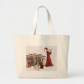 Illustration from The Pied Piper of Hamelin Book Bags