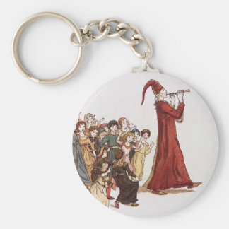 Illustration from The Pied Piper of Hamelin Book Keychain