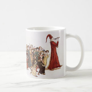 Illustration from The Pied Piper of Hamelin Book Coffee Mugs