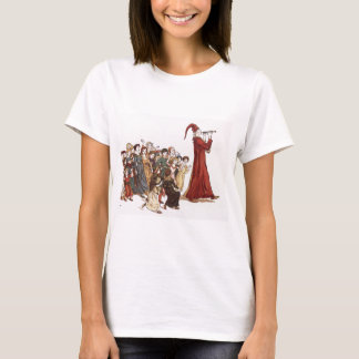 Illustration from The Pied Piper of Hamelin Book T-Shirt