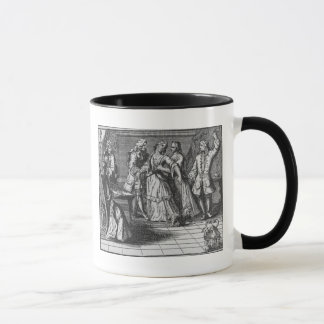 Illustration from 'The Rape of the Lock' Mug