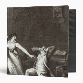 Illustration from 'The Sorrows of Werther' Binder