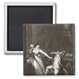 Illustration from 'The Sorrows of Werther' Magnet