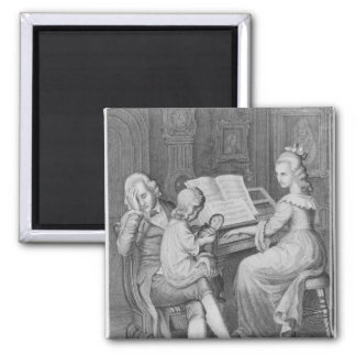 Illustration from 'The Sorrows of Werther' Fridge Magnet