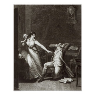 Illustration from 'The Sorrows of Werther' Poster