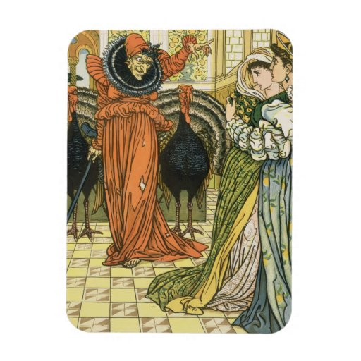Illustration from The Yellow Dwarf, first edition Rectangular Magnets