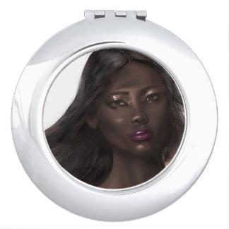 Illustration Glamour Travel Mirror