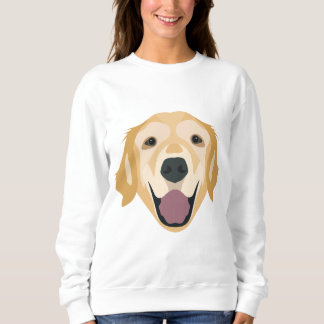 Illustration Golden Retriever Sweatshirt