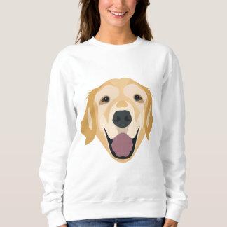 Illustration Golden Retriever Sweatshirt
