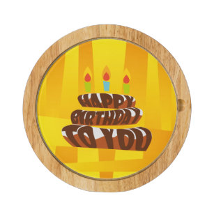 Happy Birthday Cheese Boards Zazzle