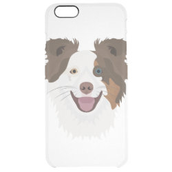 Uncommon iPhone 6 Plus Clearly™ Deflector Case with Collie Phone Cases design